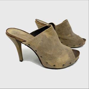 Donald j Pliner Ginet Distressed leather heels